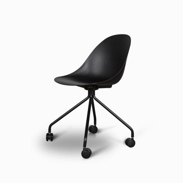 Silla escritorio peek negra