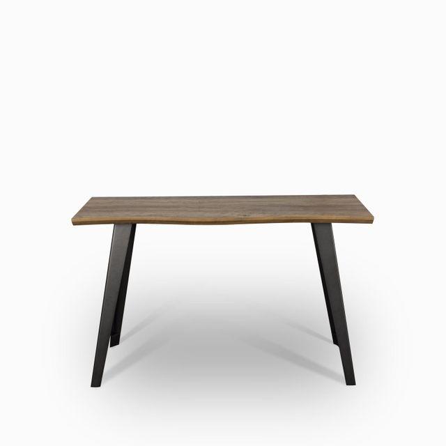 Mesa aux. affi 76x120x40 madera oscuro