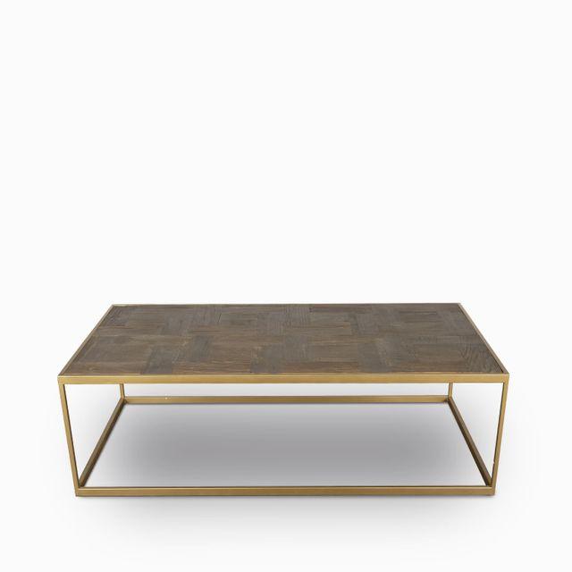 Mesa marco dorado 45x143x73cm