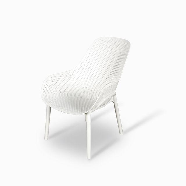 Silla bavaro blanca