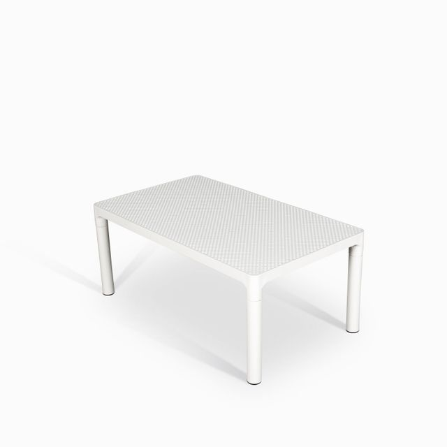Mesa de centro bavaro blanca