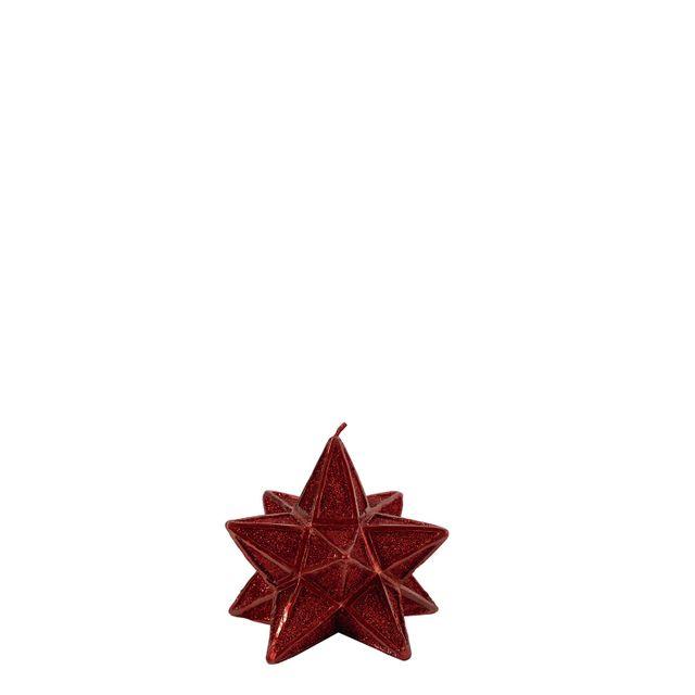 Vela estrella roja