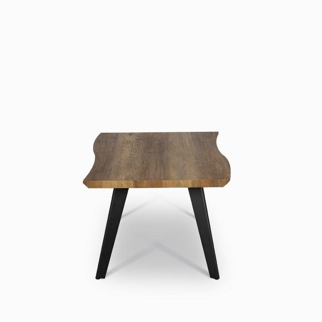 Mesa lateral affi 48x60x60 madera oscuro