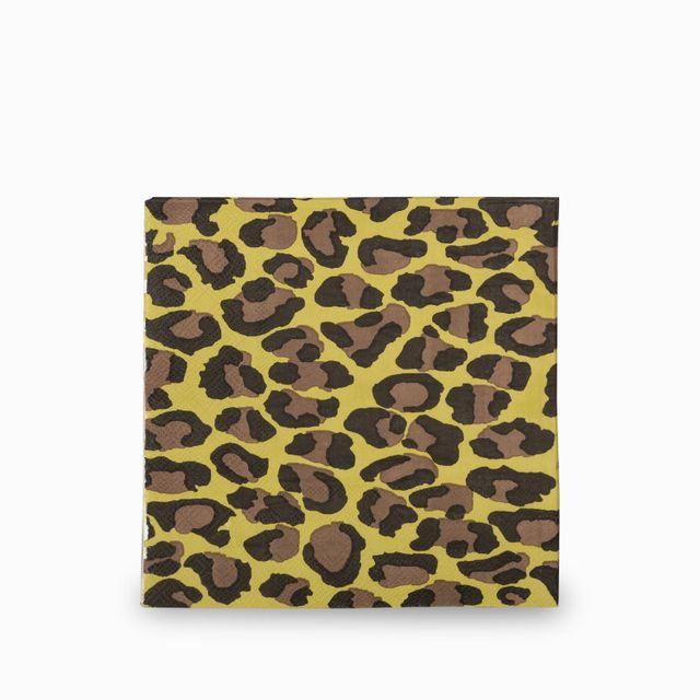 Servilletas leopardo