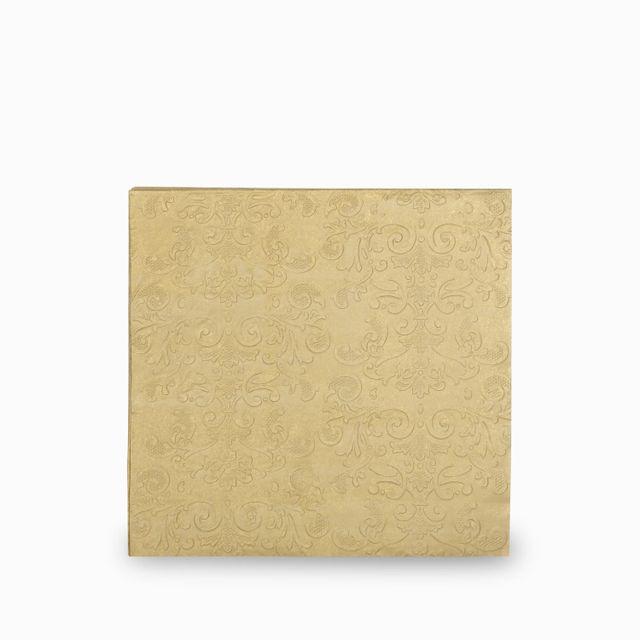 Servilletas arabescos gold