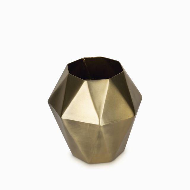 Jarron geometrico 20x20cm