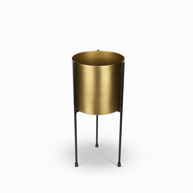 Matera-dorada-base-negra-15x35cm