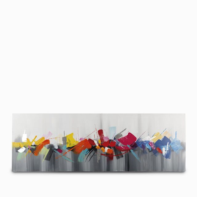 Cuadro abstracto colores 150x50x3.5