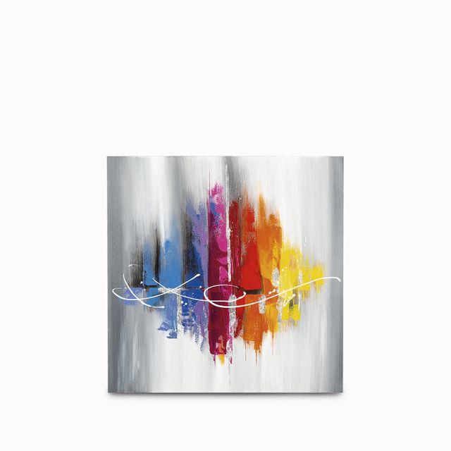 Cuadro abstracto colores 80x80x3.5