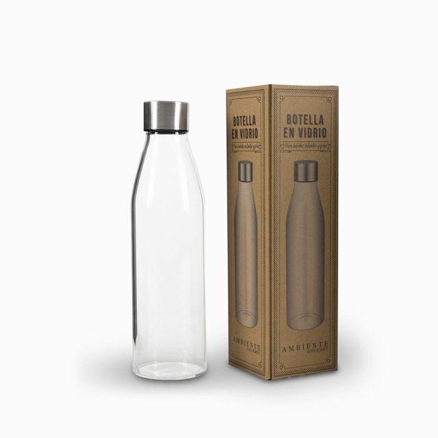 Botella en vidrio