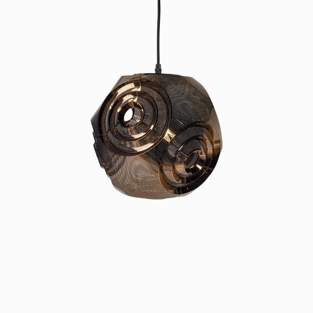 Luminaria-espiral--metal-copper