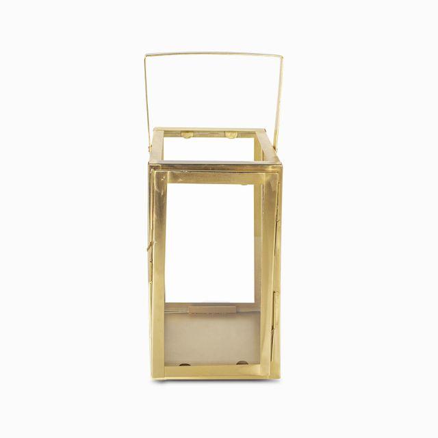 Farol dorado 27x15x15