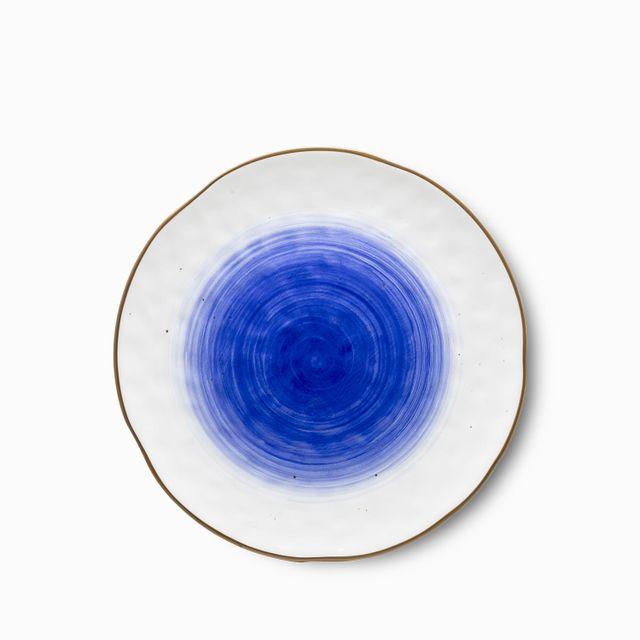 Plato-base-tronco-azul-30-cm