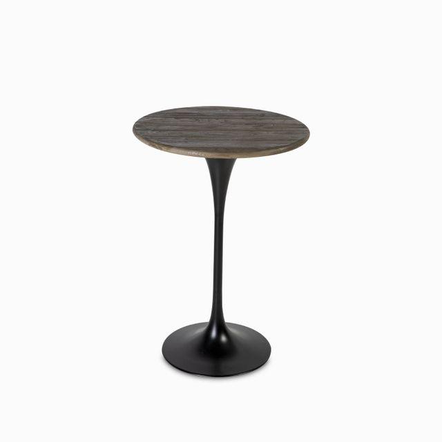 Mesa bar base hierro 108x75cm