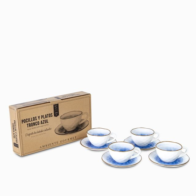 Set-pocillo-plato-troncoazul-240ml-setx4