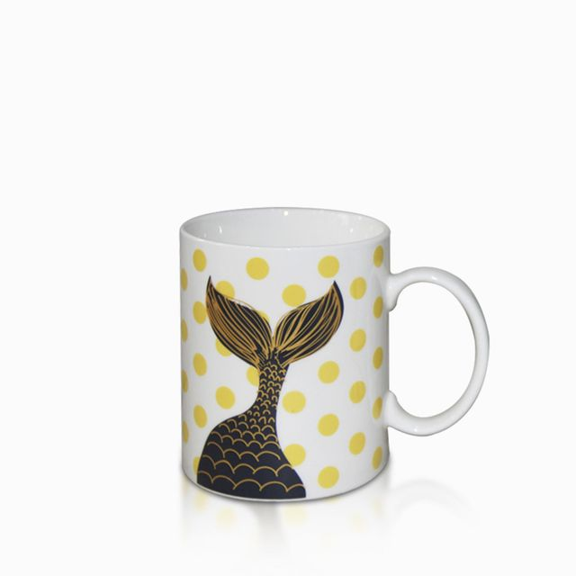 Mug-sirena-puntos-amarillos