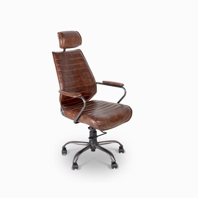 Silla-cuero-escritorio-cafe-114x65x67