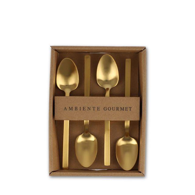 Cucharas-postre-dorado-mate-set-x-4