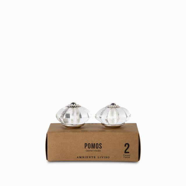 Pomo-vidrio-metal-set-x-2
