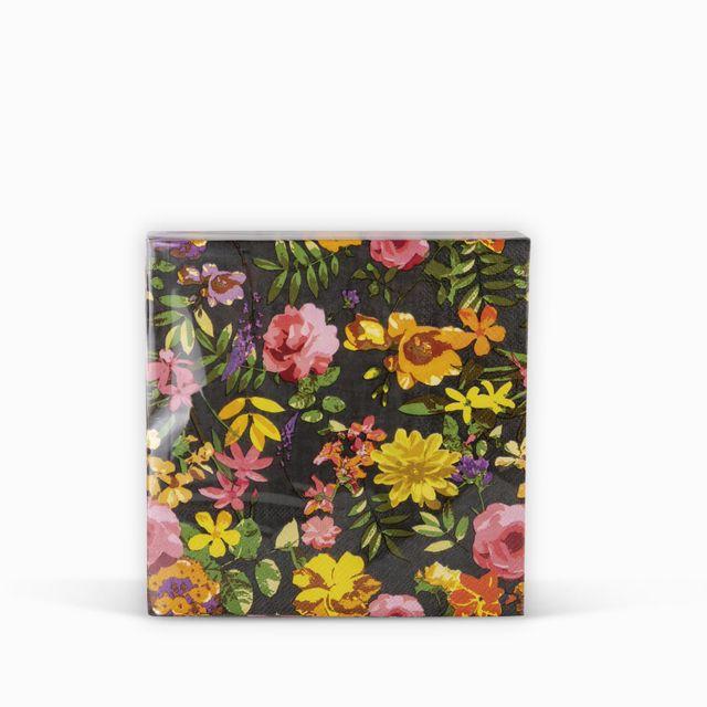 Servilletas-flores-negro