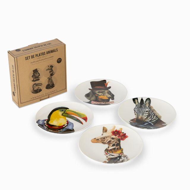 Set-de-platos-animals