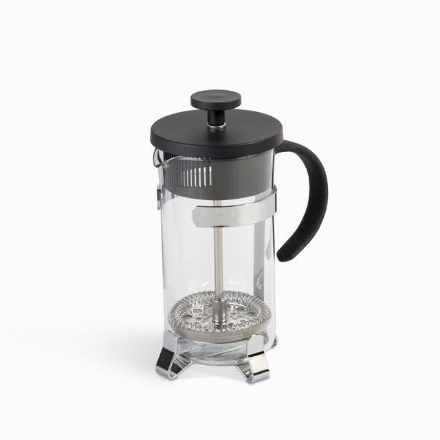 Cafetera-prensadora-negra-y-plateada-2tz