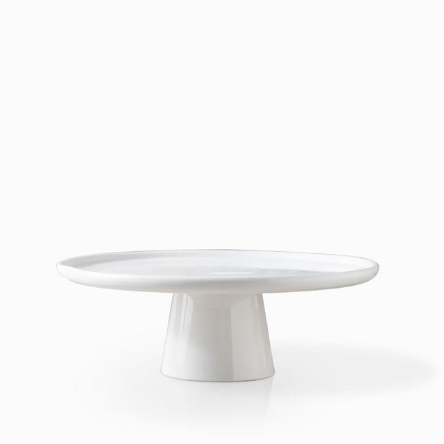 Tortera-borde-liso-en-porcelana-26-cm