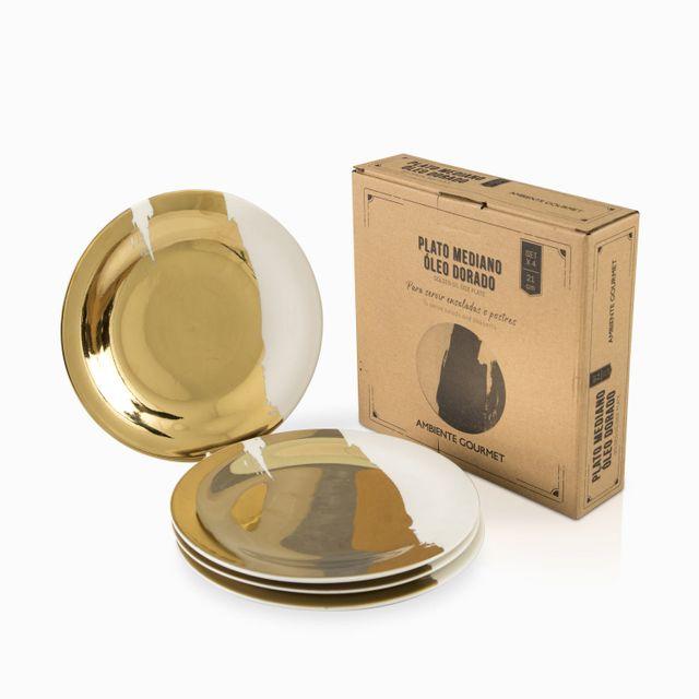 Plato-mediano-oleo-dorado-21cm-setx4