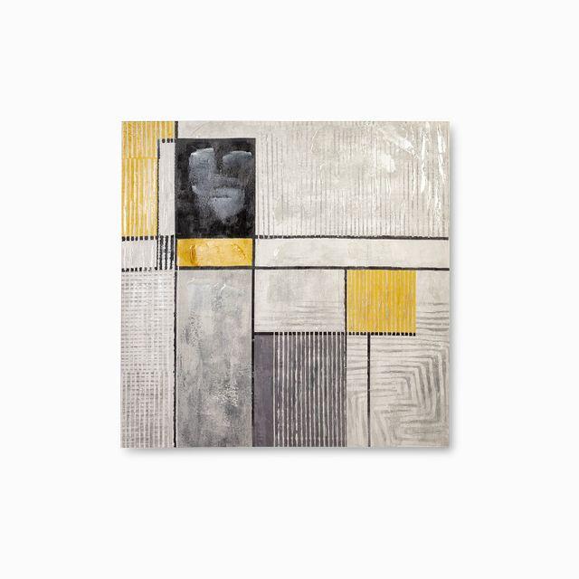 Cuadro-puzzle-amarillo-gris-100x100x3