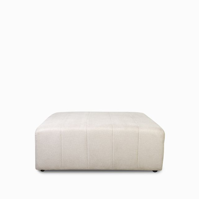 Seccional-rayas-puff-beige-43x112x109